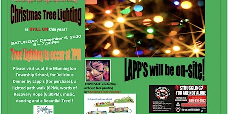 Mannington MAPSA Annual Light the Night Against Drugs Tree Lighting tickets