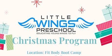 Preschool Christmas Program tickets