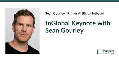 fnGlobal Keynote with Sean Gourley tickets