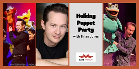 Online:  Holiday Puppet Party with Brian Jones tickets