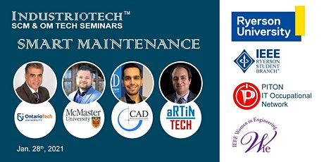 IndustrioTech©  Seminars - Smart Maintenance tickets