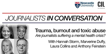 Trauma, burnout and toxic abuse: Are journalists in a mental health crisis? tickets
