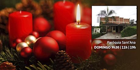 Missa Dom 29/11 - 9h30 - Paróquia Sant'Ana ingressos