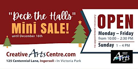 Deck The Halls - Mini Christmas Sale tickets