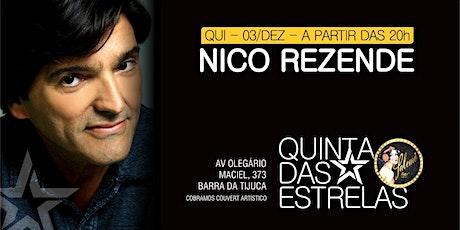 Quinta das Estrelas com Nico Rezende