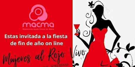 Mujeres al rojo vivo - Fiesta on line  de Macma entradas