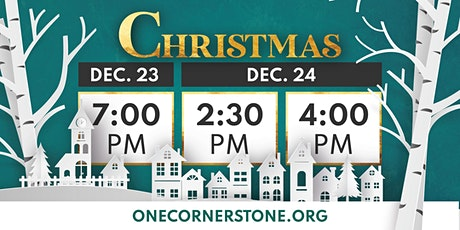 Cornerstone Christmas: December 23 at 7pm tickets