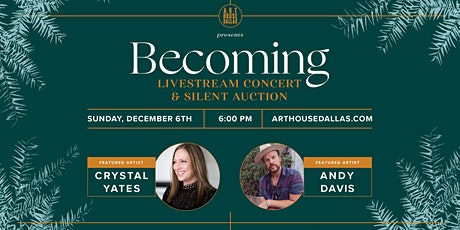 Becoming 2020: December Livestream Concert tickets
