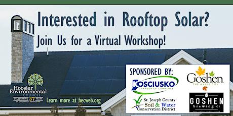 Virtual Solar Workshop - Goshen tickets