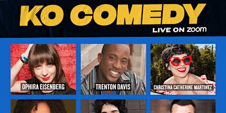 KO Comedy Live on Zoom: Friday, November 27th, 2020 tickets
