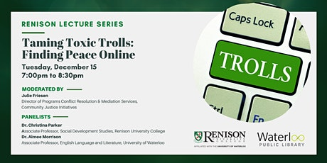 Taming Toxic Trolls: Finding Peace Online tickets