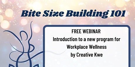Bite Size Building Webinar tickets