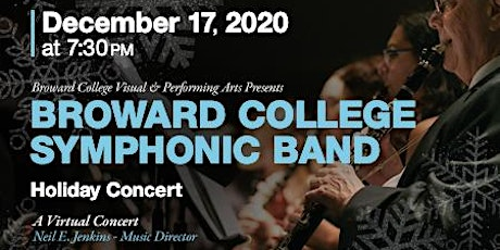 Broward College Symphonic Band - Holiday Concert tickets