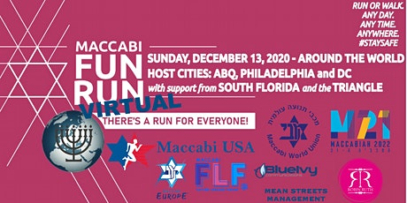 2020 Maccabi USA Winter Virtual FunRuns (Any day December - Official 12/13) tickets