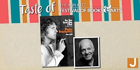 Virtual Taste of the Ann Katz Festival: Peter Frampton tickets