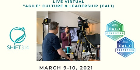 "ONLINE Live Sahota ""Agile"" Culture & Leadership (CAL1/CAL-E and CAL-O) tickets"