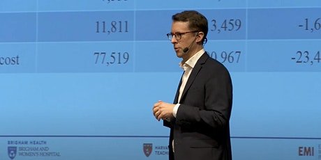 Healthcare 2030 cost / efficiency - AI meets demography - Harvard / Sweden tickets