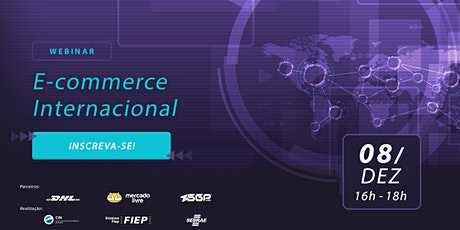 Webinar E-commerce Internacional bilhetes