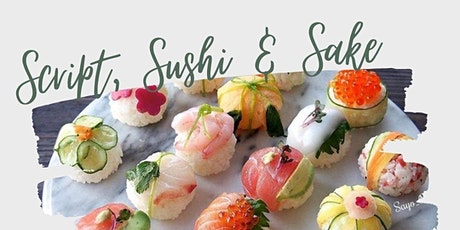 Beginner Brush Calligraphy with Rosie at Otosan Sushi tickets