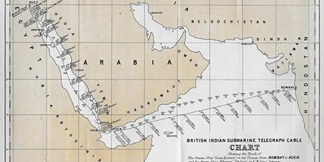 The Eastern Telegraph Company's first cable system -- Red Sea line to India tickets
