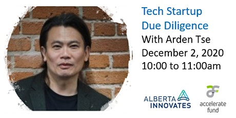 Raising Tech Startup Capital - Due Diligence with Accelerate Fund lll tickets