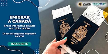 Emigrar a Canadá / Charla Informativa gratuita entradas