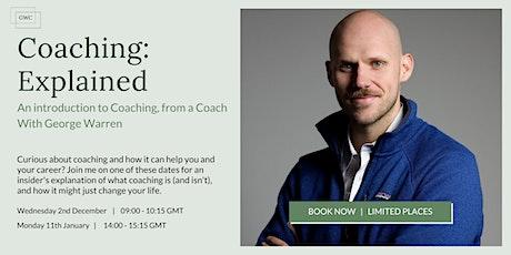 Coaching: Explained entradas