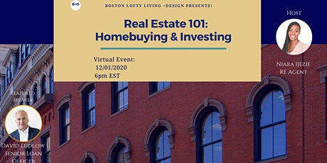 Real Estate 101: Home-buying & Investing tickets
