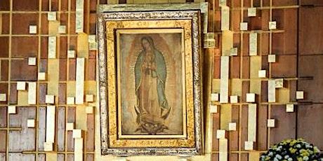 Novena y Fiesta de la Virgen de Guadalupe boletos