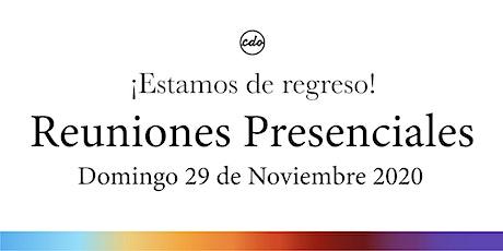 Reuniones Presenciales | CDO Iglesia entradas