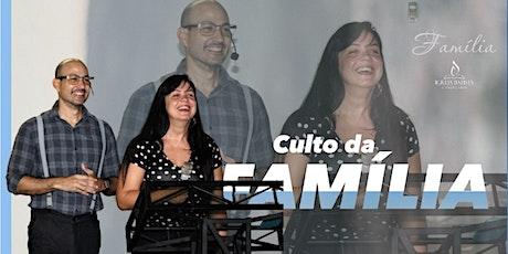 Culto Da Família IBC billets