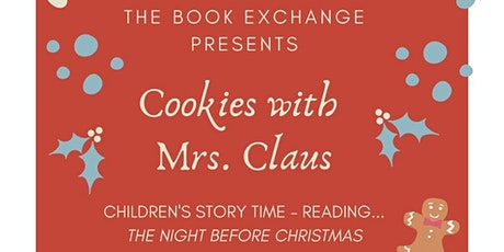 Cookies with Mrs. Claus Story Time tickets