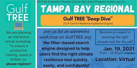 Gulf TREE Train the Trainer workshop - Tampa Bay tickets