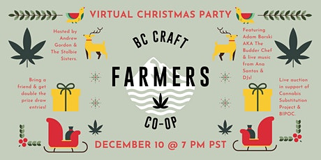 BC CRAFT FARMERS CO-OP - Christmas Mingler & Networking Event tickets