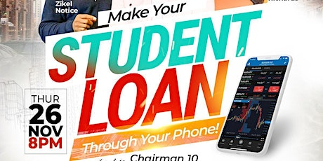 Make Your Student Loan Through Your Phone! tickets