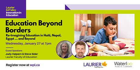 Laurier EdTalks: Innovation in Education - Education Beyond Borders tickets