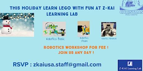 Free STEM Robotics Workshop tickets