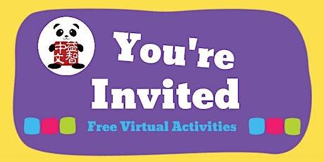 FREE Mandarin Virtual Activities for Preschoolers tickets