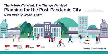 Planning for the Post-Pandemic City tickets