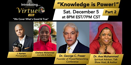 Virtue LIVE!: Knowledge is Power Part 2 tickets