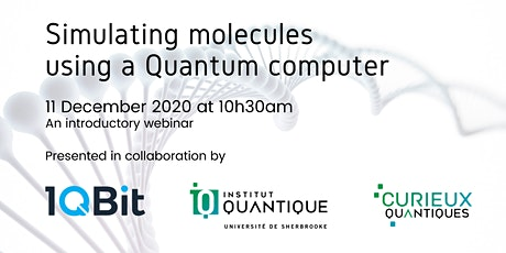 Simulating molecules using a quantum computer tickets