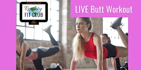Mondays 9am PST LIVE Bangin' Booty:  Butt Building @ Home Workout tickets