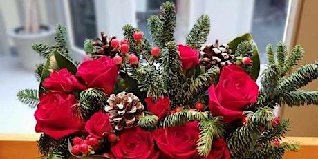 Winter Floral Arranging Class (virtual) tickets