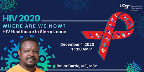 HIV 2020: Where Are We Now? HIV Healthcare in Sierra Leone tickets