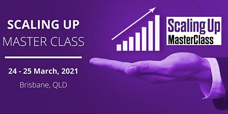 SCALING UP - MASTER CLASS tickets
