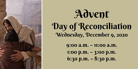 Advent Day of Reconciliation - December 09, 2020 tickets