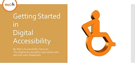 Getting Started in Accessibility tickets