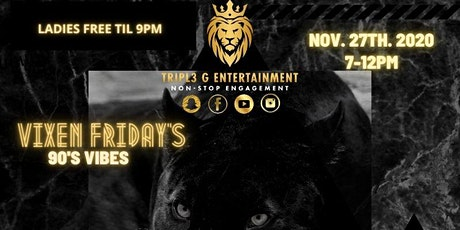 VIXEN FRIDAY'S Black Friday Moves tickets