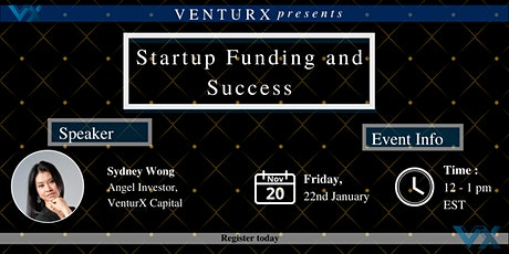 Startup Funding and Success tickets