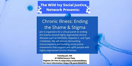 Chronic Illness: Ending the Shame & Stigma tickets